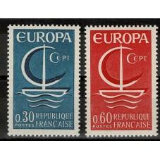 1966 FRANCIA EUROPA CEPT...