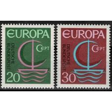 1966 GERMANIA EUROPA CEPT...
