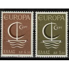 1966 GRECIA EUROPA CEPT...