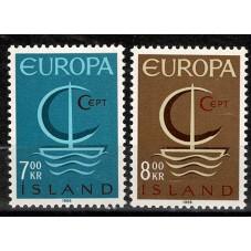 1966 ISLANDA EUROPA CEPT...