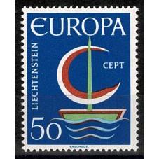 1966 LIECHTENSTEIN EUROPA...