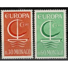 1966 MONACO EUROPA CEPT...