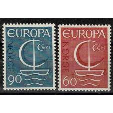 1966 NORVEGIA EUROPA CEPT...