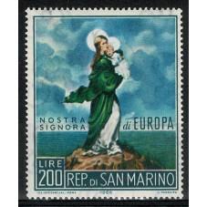 1966 SAN MARINO EUROPA CEPT...