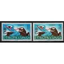 1966 SPAGNA EUROPA CEPT...