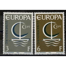 1966 LUSSEMBURGO EUROPA...