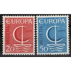 1966 SVIZZERA EUROPA CEPT...