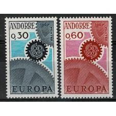 1967 ANDORRA FRANCESE...