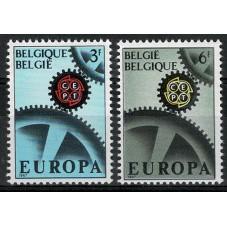 1967 BELGIO EUROPA CEPT...