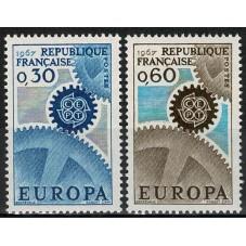 1967 FRANCIA EUROPA CEPT...