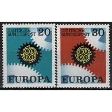 1967 GERMANIA EUROPA CEPT...