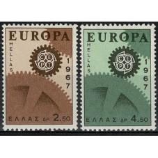 1967 GRECIA EUROPA CEPT...