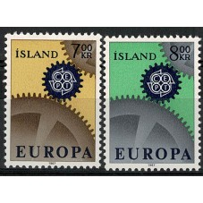 1967 ISLANDA EUROPA CEPT...