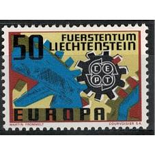 1967 LIECHTENSTEIN EUROPA...