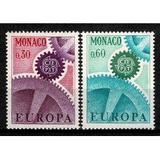 1967 MONACO EUROPA CEPT...