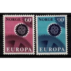 1967 NORVEGIA EUROPA CEPT...