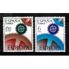 1967 SPAGNA EUROPA CEPT...