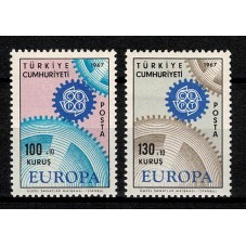 1967 TURCHIA EUROPA CEPT...