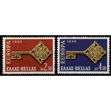 1968 GRECIA EUROPA CEPT...