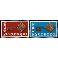 1968 IRLANDA EUROPA CEPT...