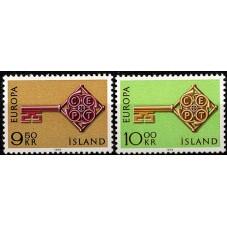 1968 ISLANDA EUROPA CEPT...
