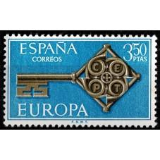 1968 SPAGNA EUROPA CEPT...
