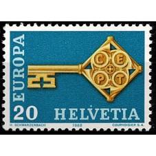 1968 SVIZZERA EUROPA CEPT...