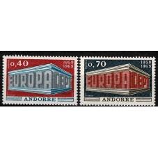1969 ANDORRA FRANCESE...