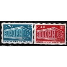 1969 FRANCIA EUROPA CEPT...