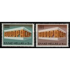 1969 GRECIA EUROPA CEPT...