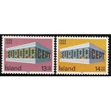 1969 ISLANDA EUROPA CEPT...