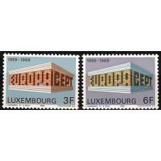 1969 LUSSEMBURGO EUROPA...