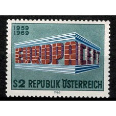 1969 AUSTRIA EUROPA CEPT...