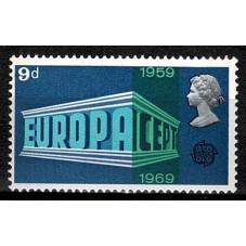1969 GRAN BRETAGNA EUROPA...