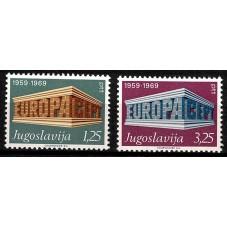 1969 JUGOSLAVIA EUROPA CEPT...