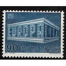 1969 DANIMARCA EUROPA CEPT...