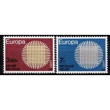 1970 BELGIO EUROPA CEPT...