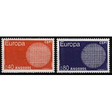 1970 ANDORRA FRANCESE...