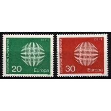 1970 GERMANIA EUROPA CEPT...