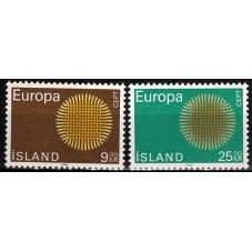 1970 ISLANDA EUROPA CEPT...