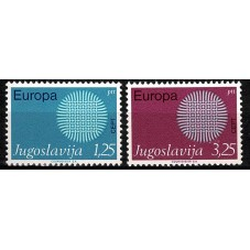 1970 JUGOSLAVIA EUROPA CEPT...