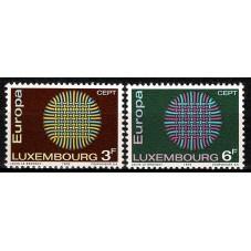 1970 LUSSEMBURGO EUROPA...