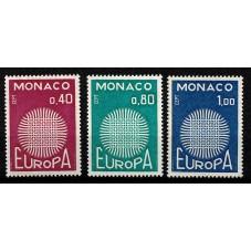 1970 MONACO EUROPA CEPT...