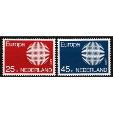 1970 OLANDA EUROPA CEPT...