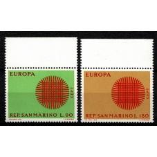 1970 SAN MARINO EUROPA CEPT...