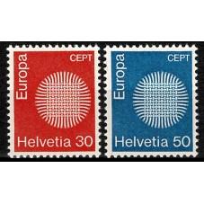1970 SVIZZERA EUROPA CEPT...