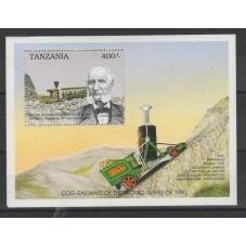 TANZANIA 1990 - TRENI A...
