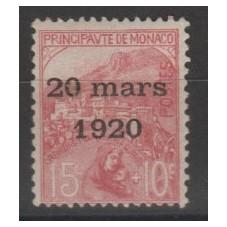 1920 MONACO SOPRASTAMPA...