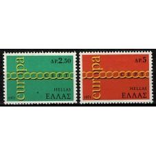 1971 GRECIA EUROPA CEPT...