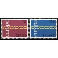 1971 ISLANDA EUROPA CEPT...
